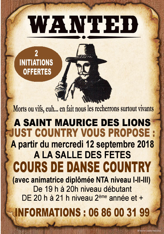 COUNTRY ST MAURICE DES LIONS